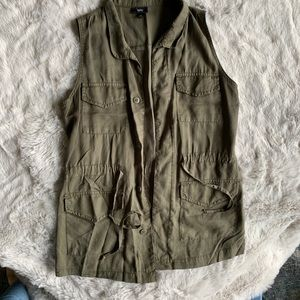 Mossimo Olive Green Vest